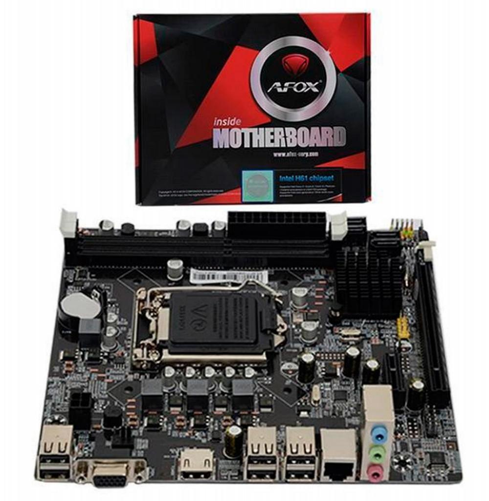 Placa Mãe AFOX IH110-MA Socket LGA 1151 - até 2 DDR4