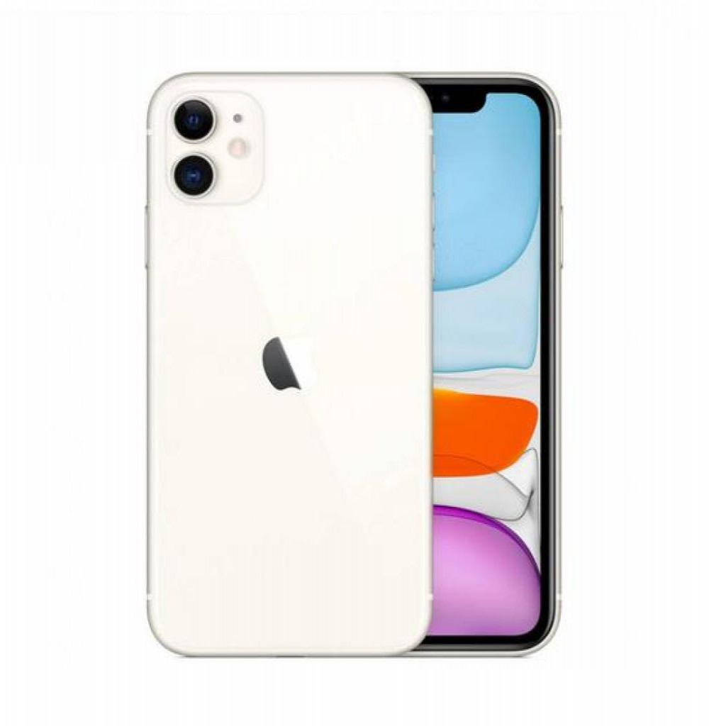 Celular Apple Iphone 11 128GB A2111 Branco