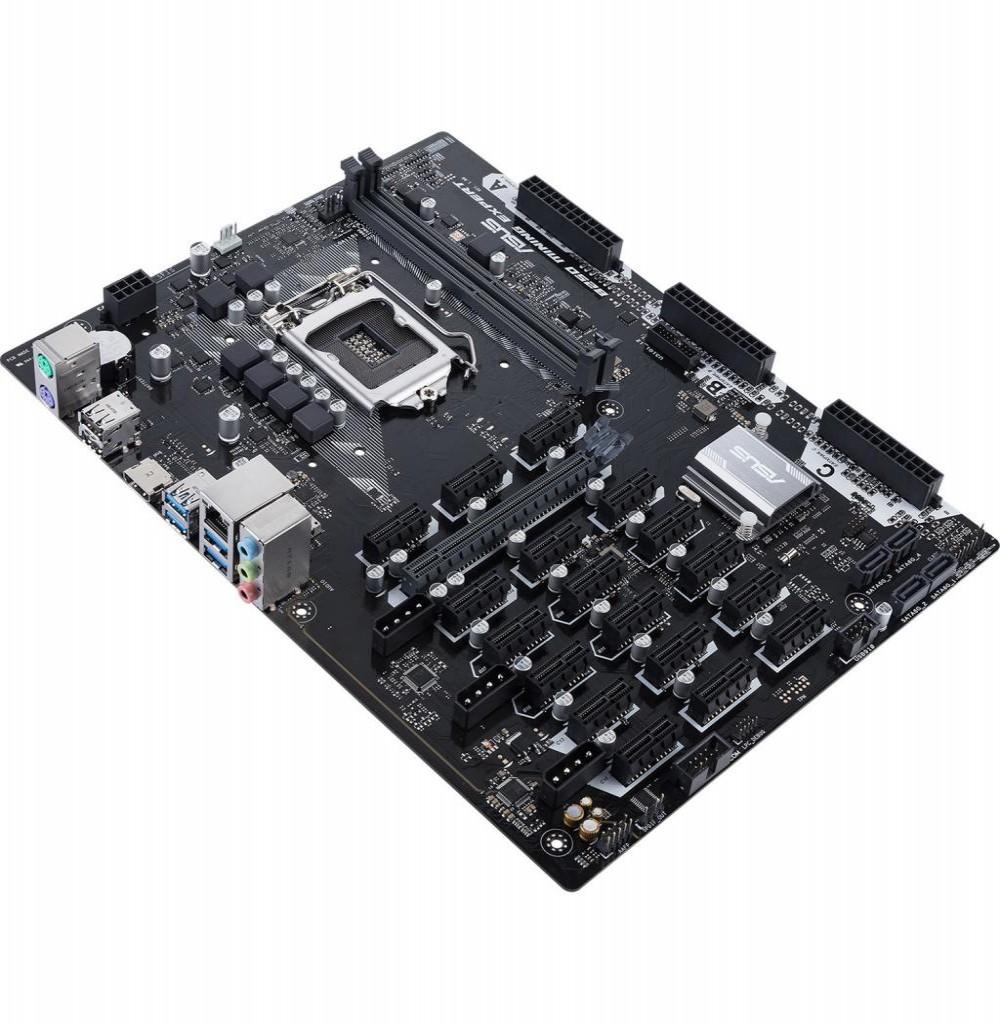 Placa Mãe Asus B250 Mining Expert LGA1151/2xDDR4/19x PCI-E/HDMI/USB/SATA