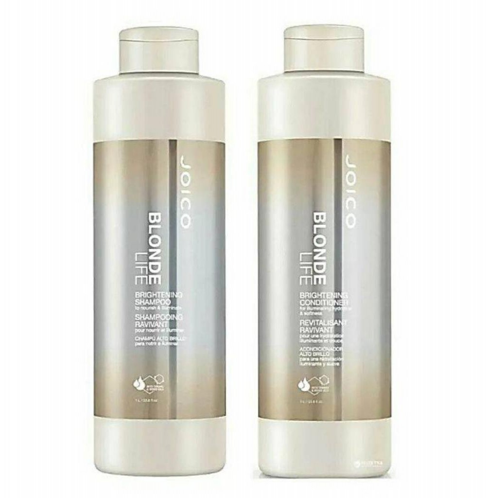 Shampoo e Condicionador Joico Blonde Life Brightening 1