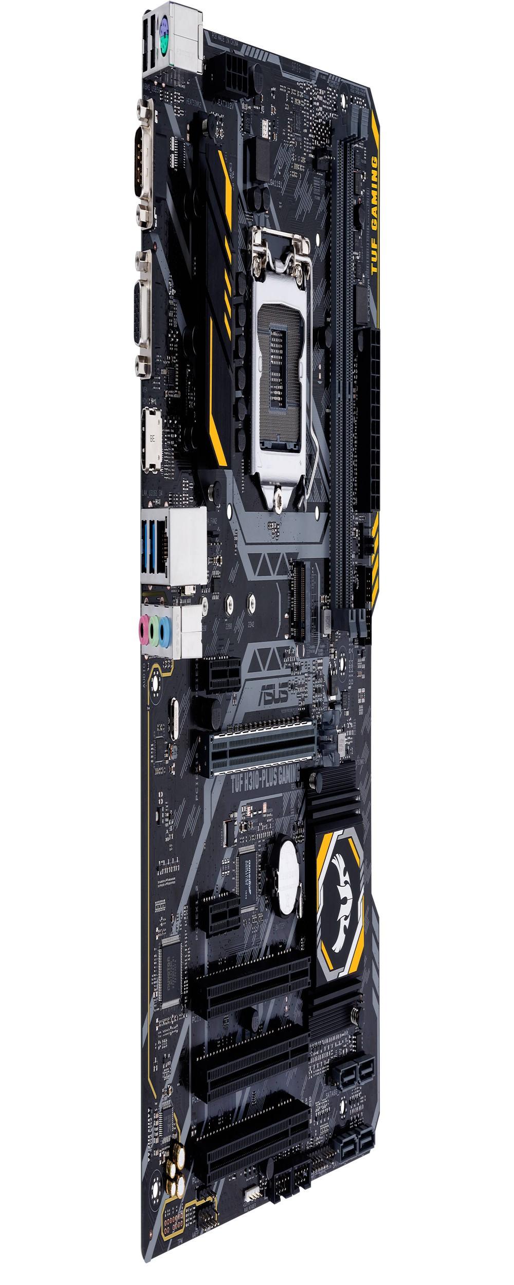 Placa Mãe Asus TUF H310-Plus Gaming Socket LGA 1151 para até 2 DDR4