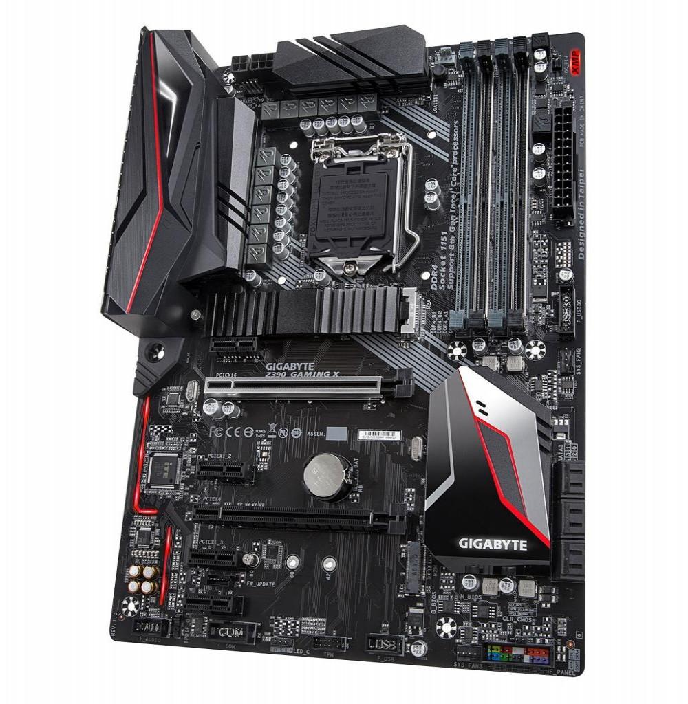 Placa Mãe Gigabyte Z390 Gaming X Intel Soquete LGA 1151