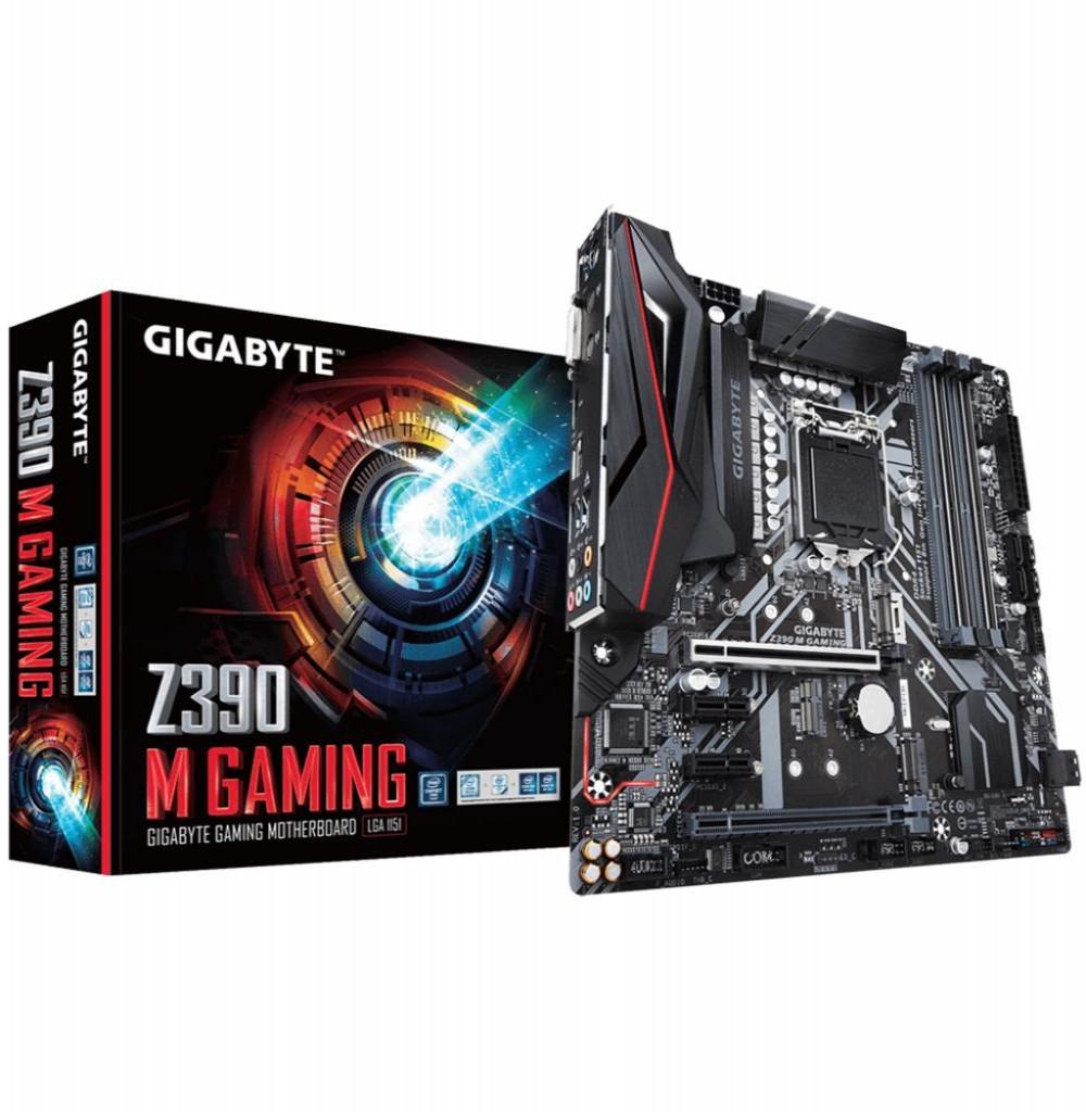Placa Mãe Gigabyte Z390 M Gaming Intel Soquete LGA 1151