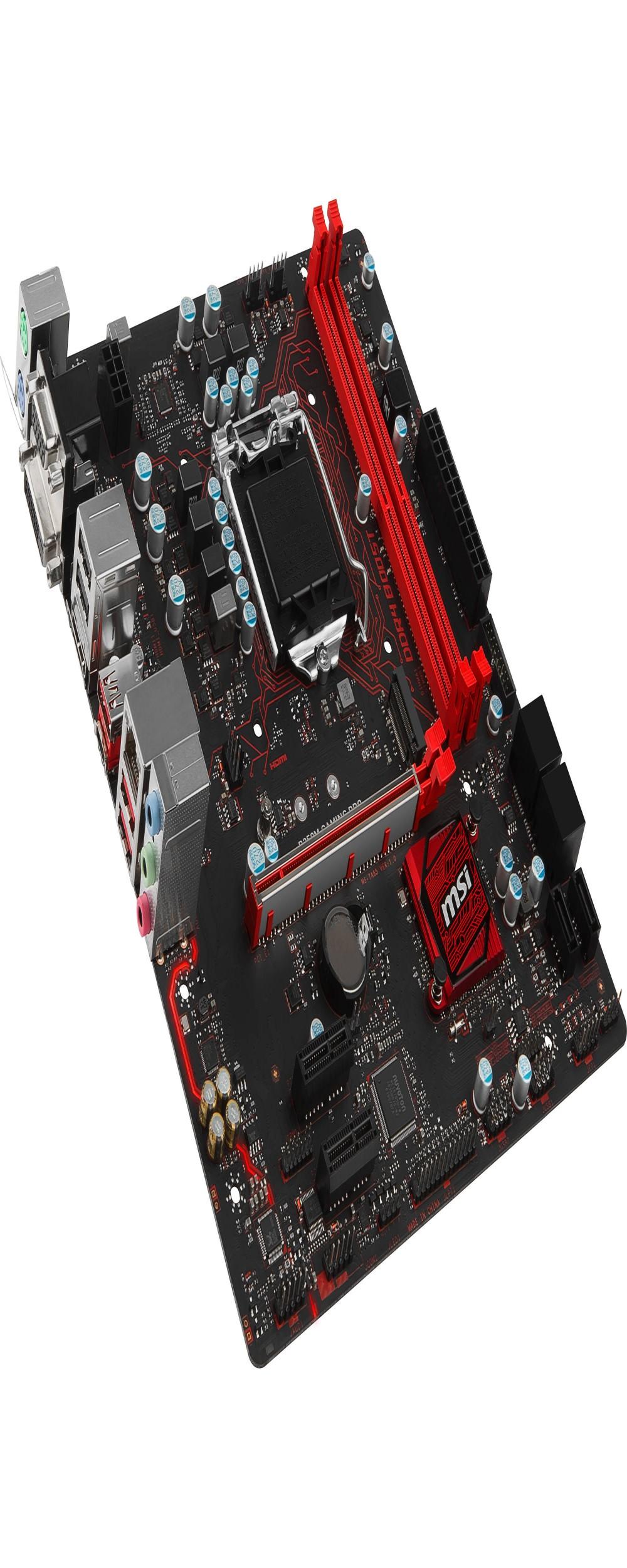 Placa Mãe MSI B250M Gaming Pro Intel Soquete LGA 1151