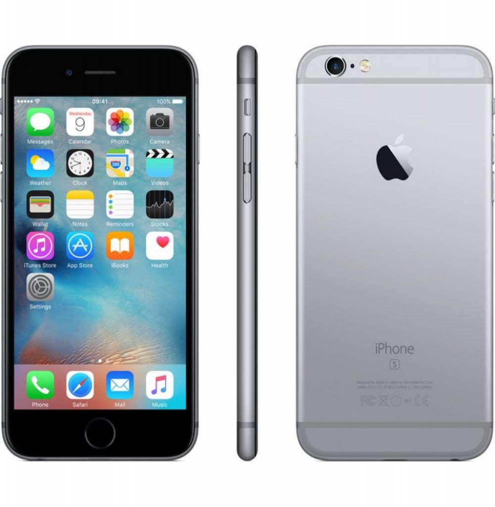 "Apple iPhone 6S A1688 32GB Tela Retina 4.7"" 12MP/5MP iOS - Cinza Espacial"