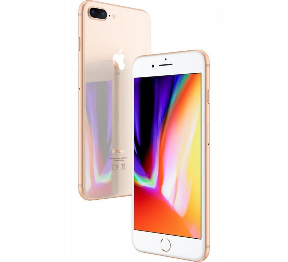 "Apple iPhone 8 Plus A1897 BZ 64GB Tela Retina 5.5"" 12MP/7MP iOS - Dourado"