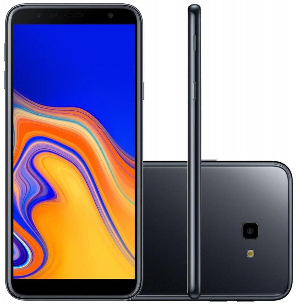 """Smartphone Samsung Galaxy J4+ SM-J415G/DS Dual SIM 32GB de 6.0"""" 13MP/5MP OS 8.1.0 - Preto"""