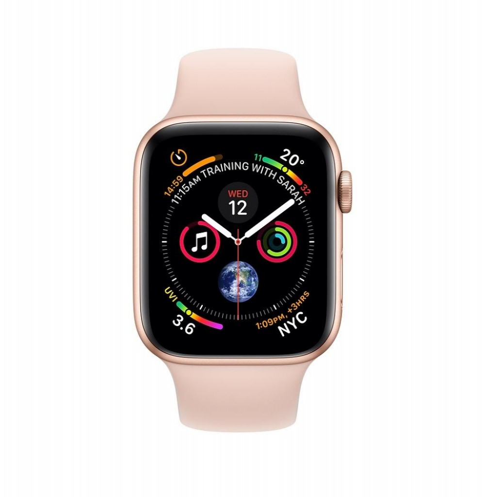 Apple Watch Series 4 44 mm MU6F2LL/A A1978 – Gold/Pink Sand
