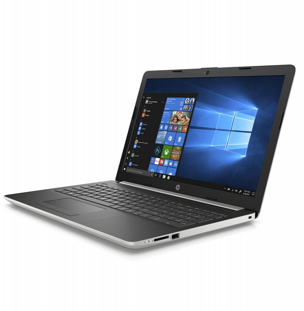 "Notebook HP 15-DB0083WM E2 1.5GHZ/ 4GB/ 500GB/ 15.6"" HD/ W10 Prata"
