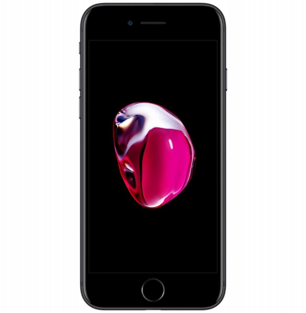 "Apple iPhone 7 A1778 32GB Tela Retina HD 4.7"" 12MP/7MP iOS 10 - Preto Mate"