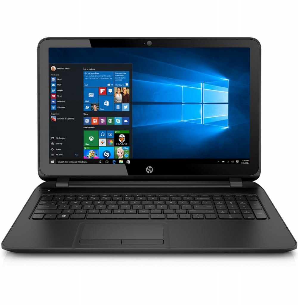 "Notebook HP 15-F246WM Celeron N2840 1.8GHZ / 4GB / 500GB / 15.6"" HD"