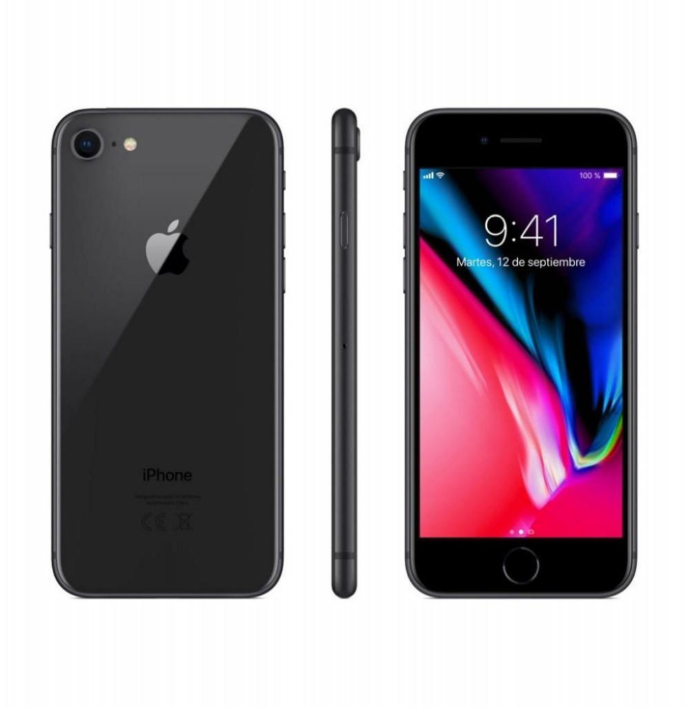 "Apple iPhone 8 A1905 64GB Tela Retina 4.7"" 12MP/7MP iOS - Cinza Espacial"