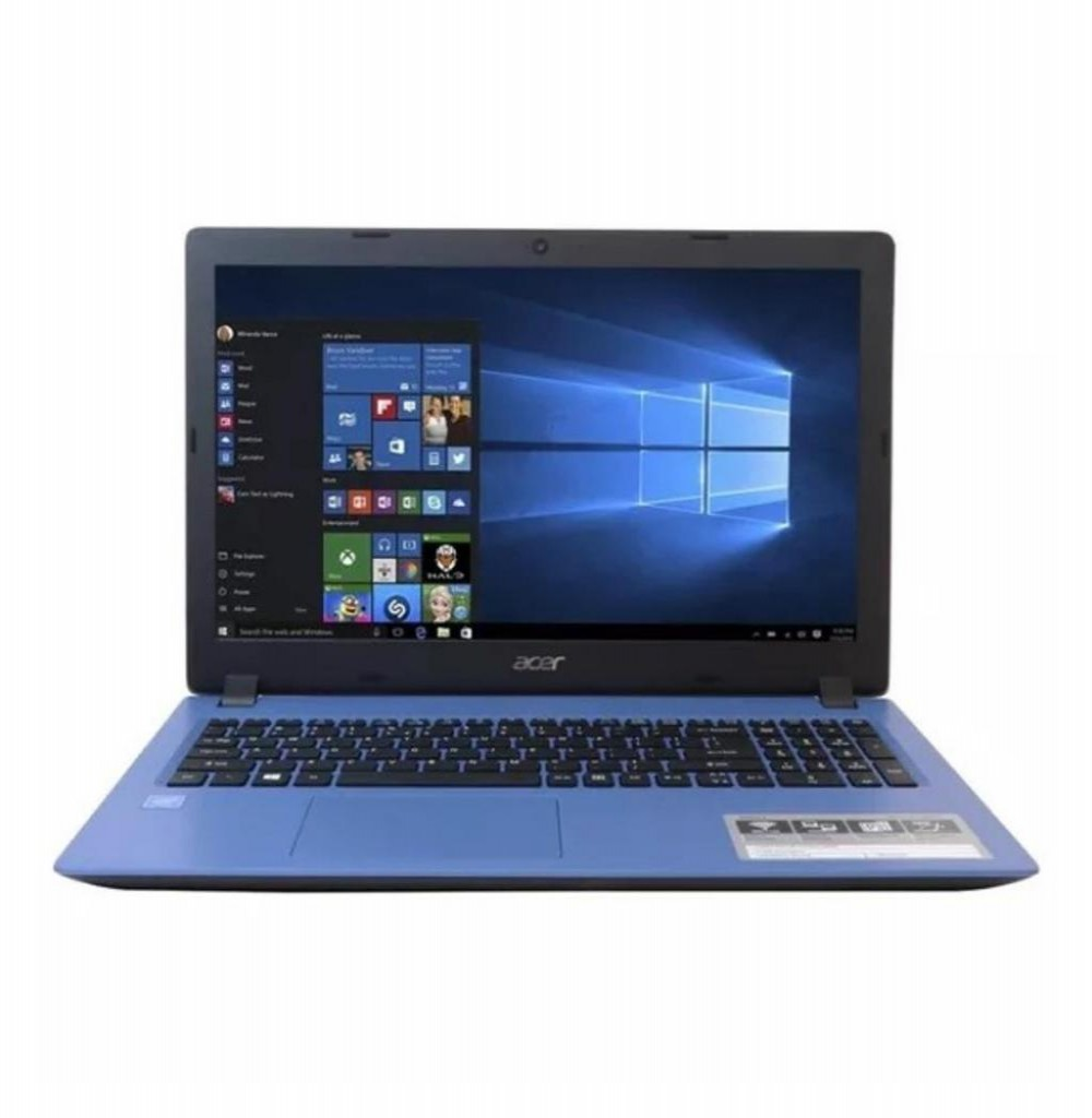 "Notebook Acer Aspire 3 A315-31-C5E9 Tela 15.6"" N3350 4GB RAM/500GB HD Linux"