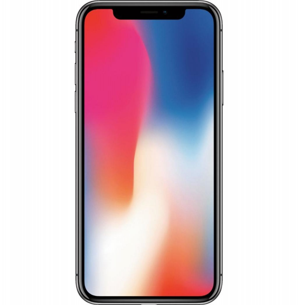 "Apple iPhone X A1901 BZ 64GB Tela Super Retina OLED 5.8"" 12MP/7MP iOS - Cinza Espacial"