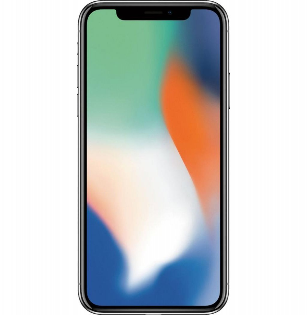 "Apple iPhone X A1901 BZ 64GB Tela Super Retina OLED 5.8"" 12MP/7MP iOS - Prata"