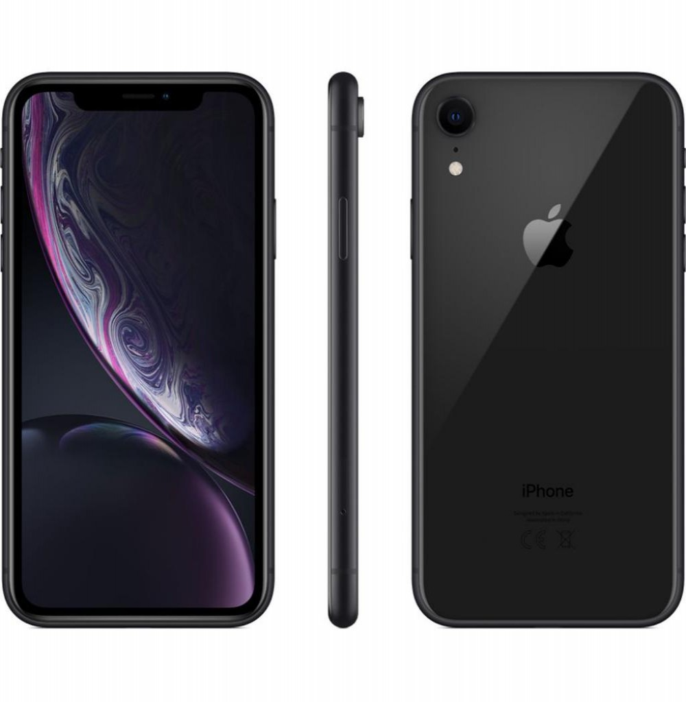 "Apple iPhone XR A2105 128GB Tela Liquid Retina 6.1"" 12MP/7MP iOS - Preto"