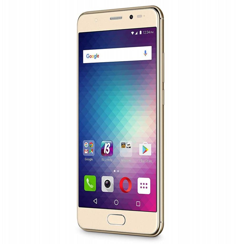 "Smartphone BLU Life One X2 Mini L0130UU Dual SIM 64GB Tela 5"" 13MP/8MP OS 6.0.1 - Dourado"