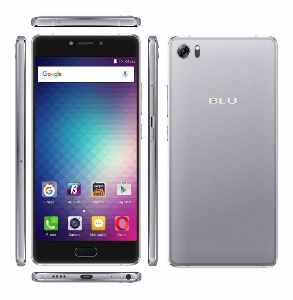 Celular Blu Pure XR P0030UU 5.5 Lte Dual Grafite
