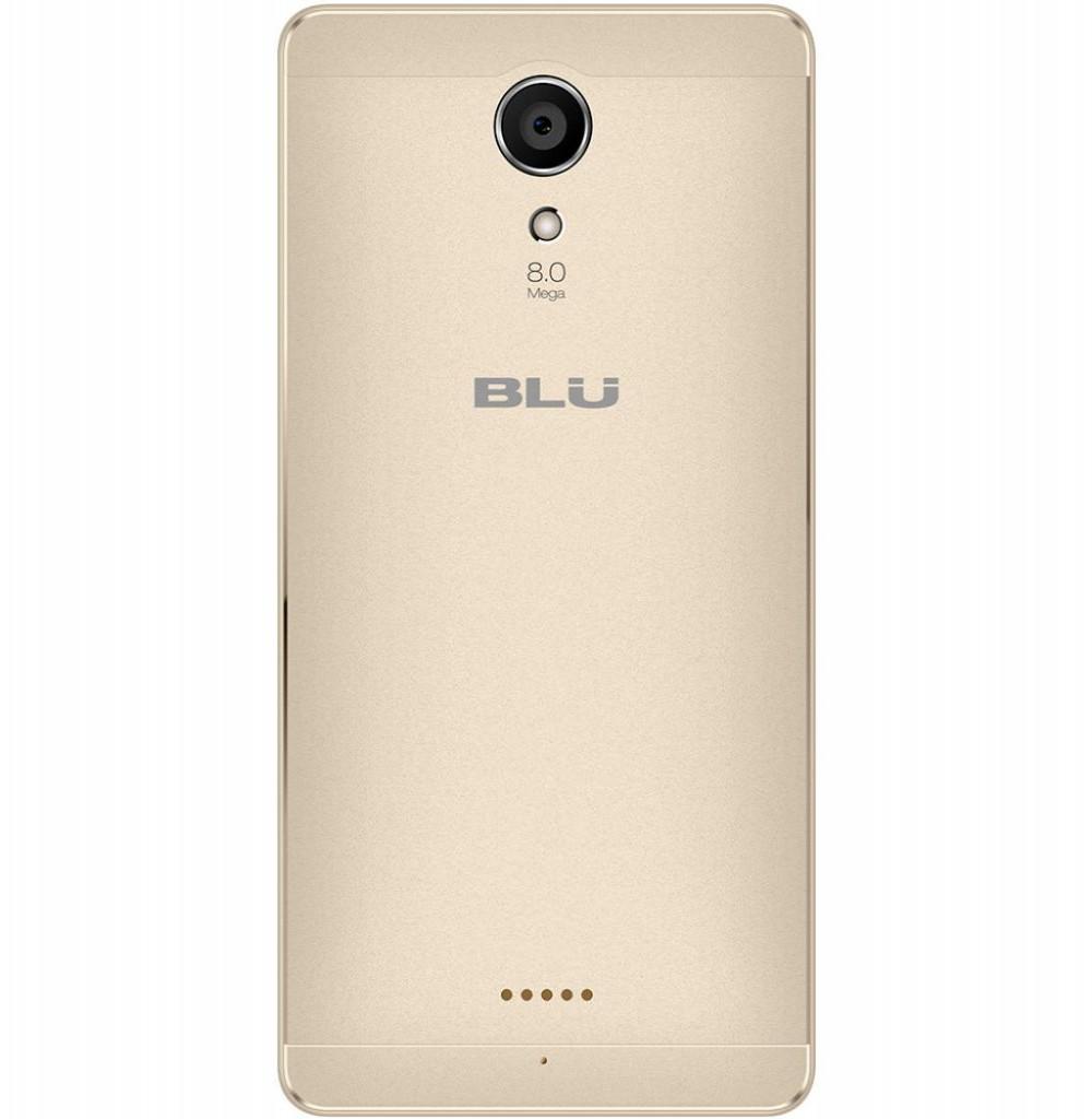 "Smartphone Blu Studio Touch S0210UU 5.0"" 8GB 1GB Ram 4G Lte Dual Dourado"