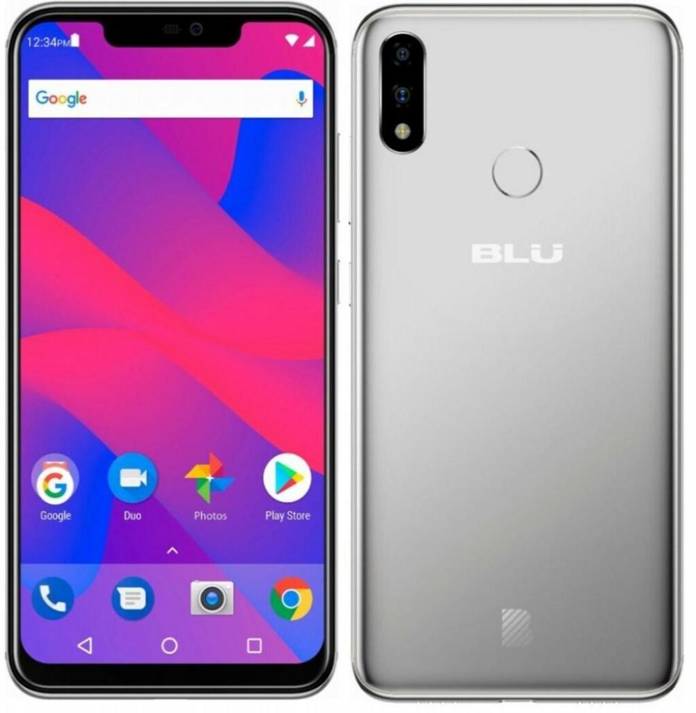 """Smartphone BLU Vivo XI+ V0310WW Dual SIM 64GB Tela 6.2"""" 16+5MP/16MP OS 8.1 - Preto"""