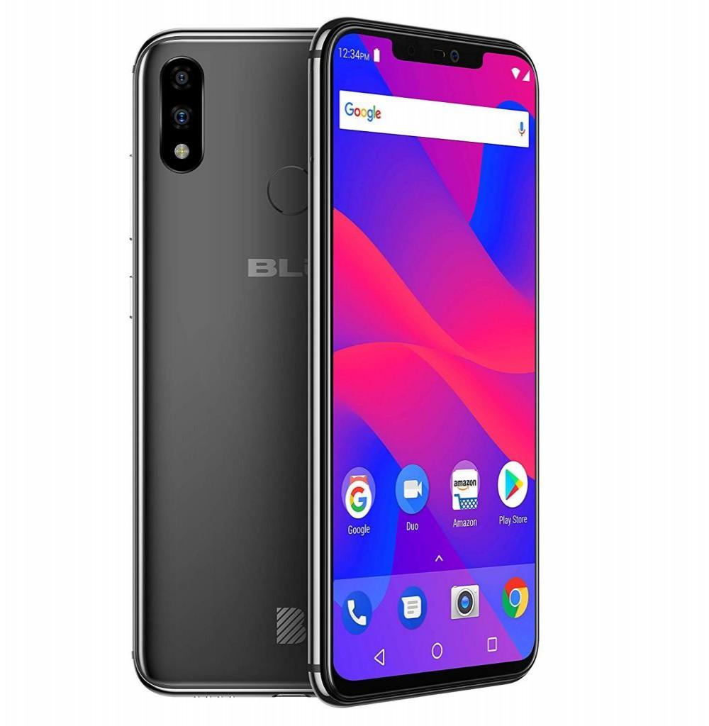"""Smartphone BLU Vivo XI+ V0311WW Dual SIM 128GB Tela 6.2"""" 16+5MP/16MP OS 8.1 - Preto"""