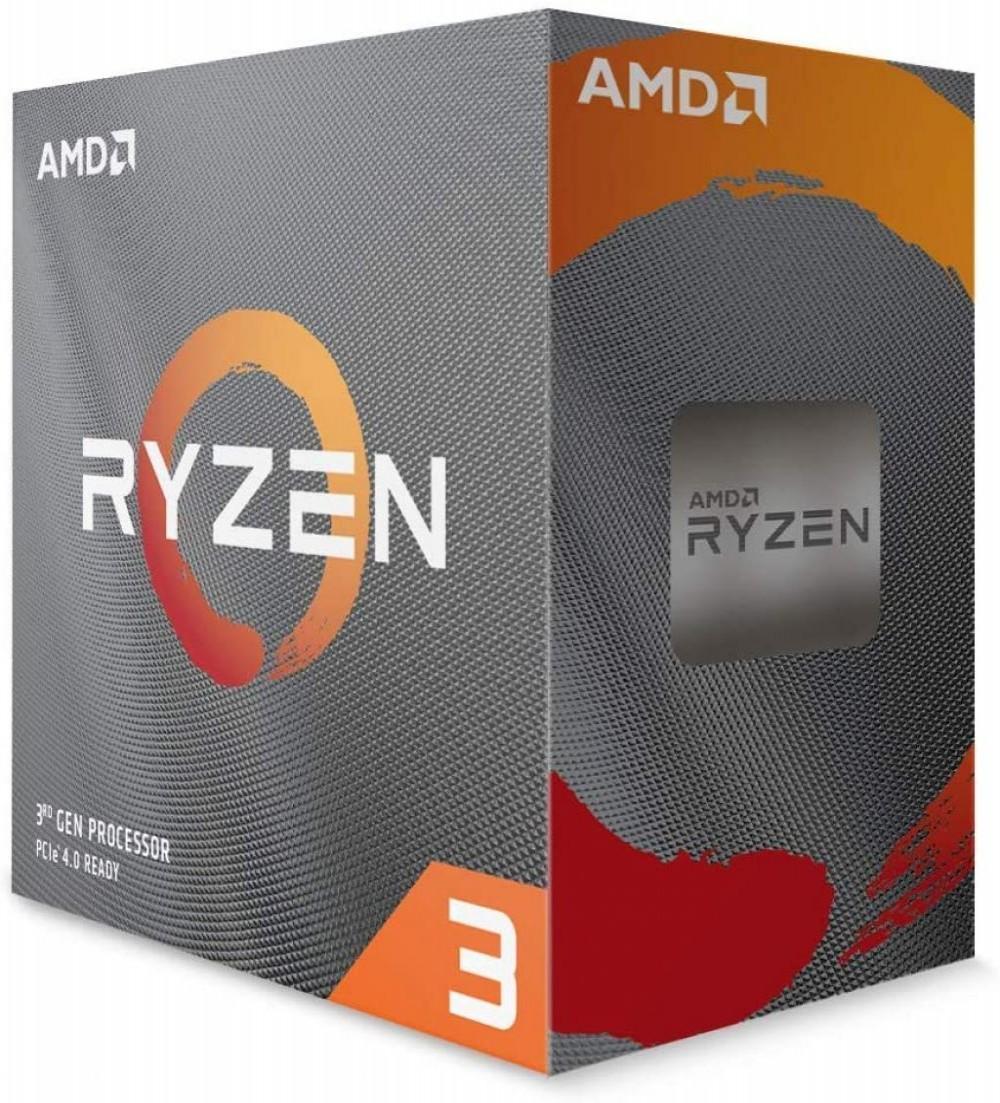 Processador AMD AM4 Ryzen R3-3100 3.9GHZ 18MB