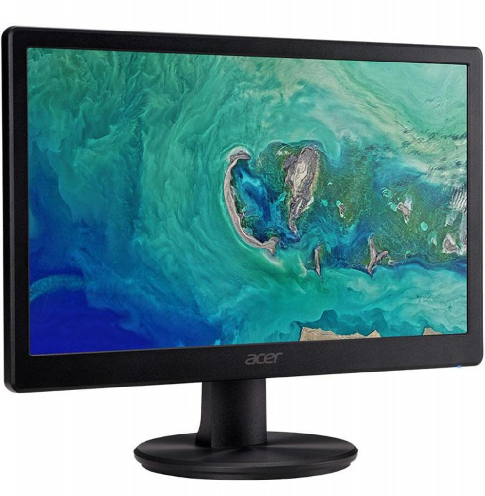 """Monitor LED de 15.6"""" Acer P7 Series P167Q HD com VGA Bivolt - Preto"""