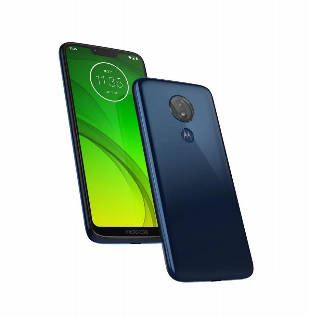 "Smartphone Motorola Moto G7 Power XT1955-2 Dual SIM 64GB de 6.2"" 12MP/8MP OS 9.0 - Azul"