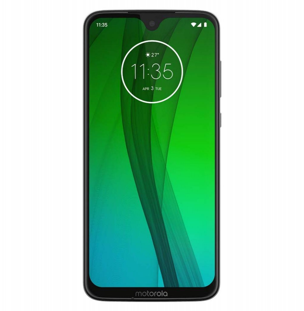 "Smartphone Motorola Moto G7 XT1962-4 Dual SIM 64GB de 6.2"" 12+5MP/8MP OS 9.0 - Preto"