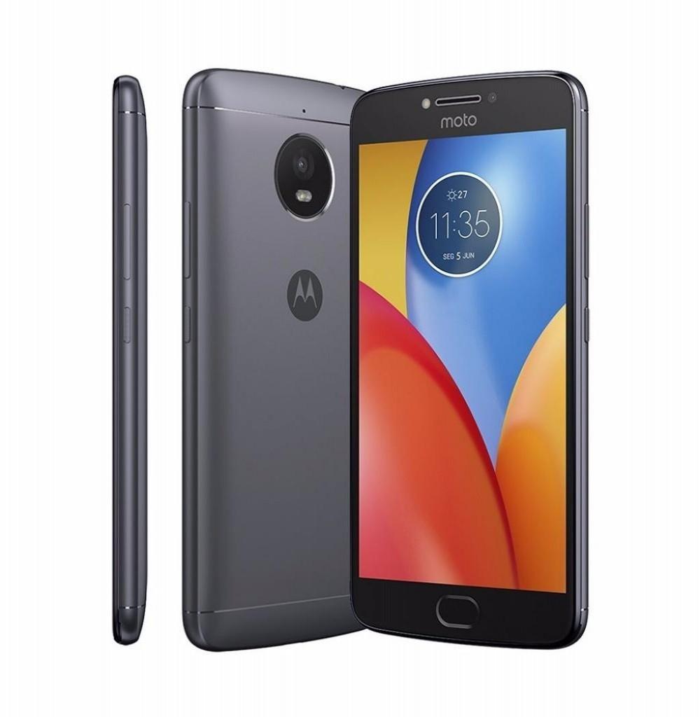 "Smartphone Motorola Moto E4 Plus XT1773 Dual SIM 16GB 5.5"" 13MP/5MP OS 7.1.1 - Cinza"