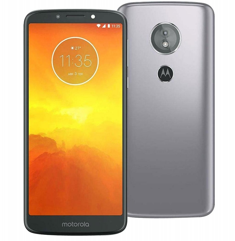 "Smartphone Motorola Moto E5 XT1944-3 16GB Tela de 5.7"" 13MP/5MP OS 8.0 - Cinza"