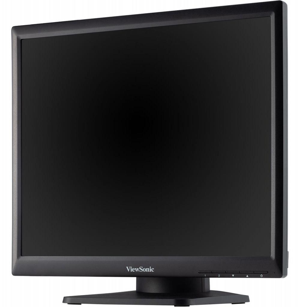 """Monitor Led Viewsonic TD1711 de 17"""" Touch Screen com entrada USB / Saídas de Vídeo VGA e HDMI / RS232 - Preto"""
