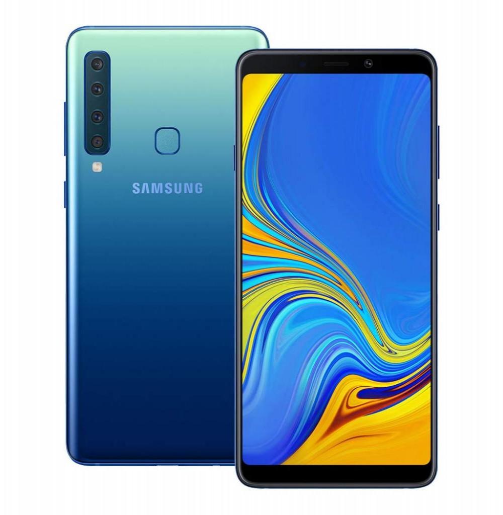 """Smartphone Samsung Galaxy A9 SM-A920F/DS Dual SIM 128GB 6.3"""" 24+5+10+8/24MP OS 8.0 - Azul"""