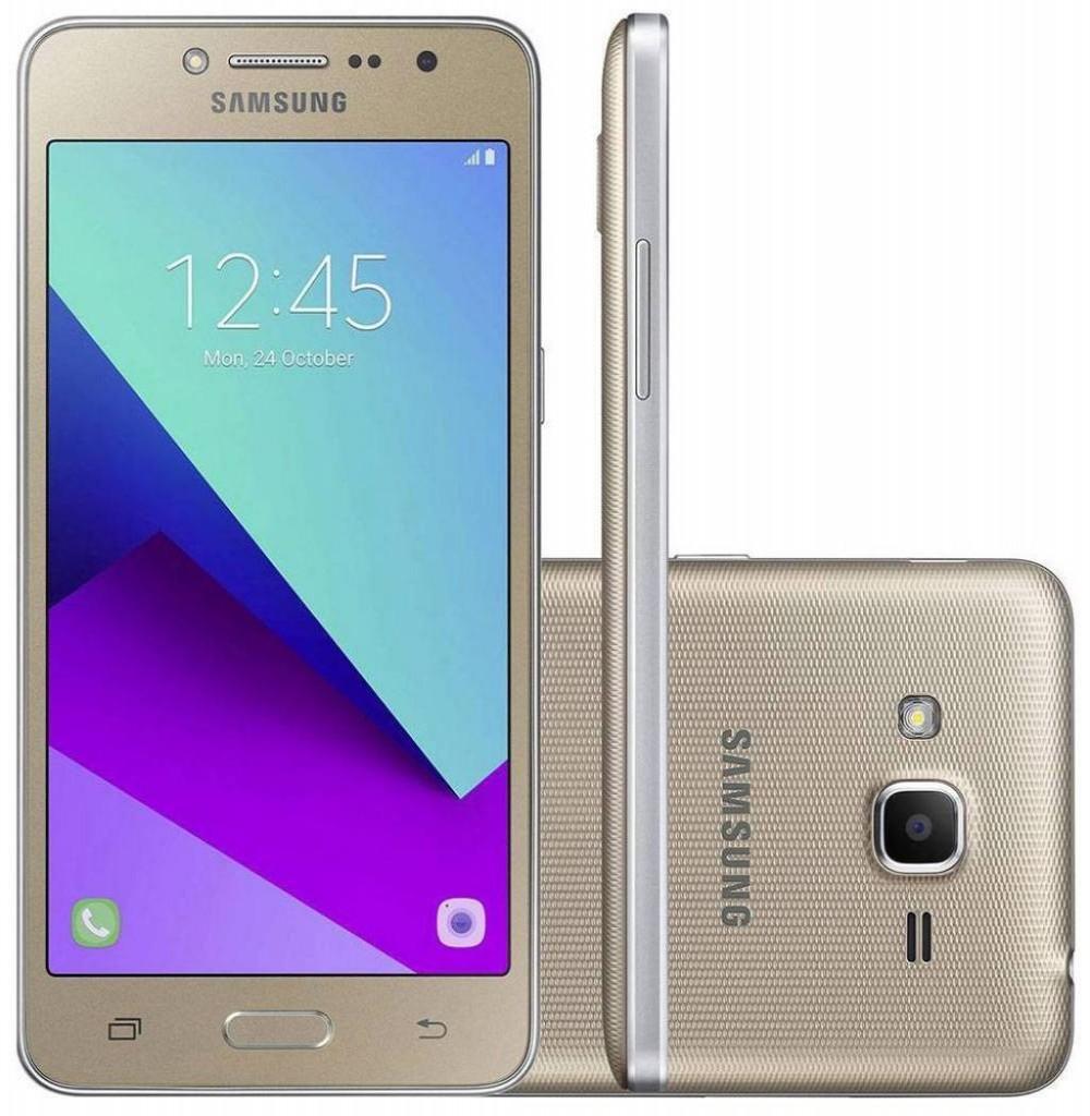 """Smartphone Samsung Galaxy J2 Prime SM-G532M 16GB LTE Dual Sim Tela 5.0"""" - Dourado +SD16GB"""