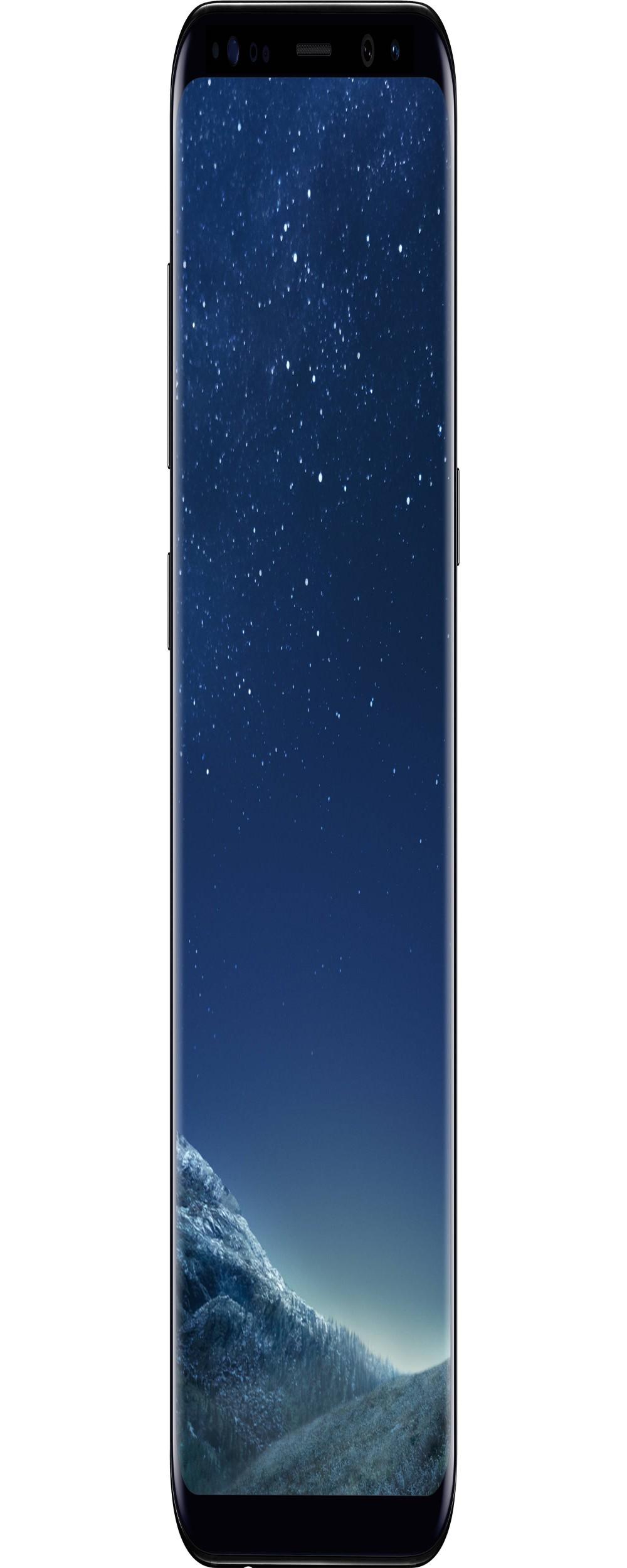 "Smartphone Samsung Galaxy S8+ SM-G955FD Dual SIM 64GB de 6.2"" 12MP/8MP OS 7.0 - Preto"