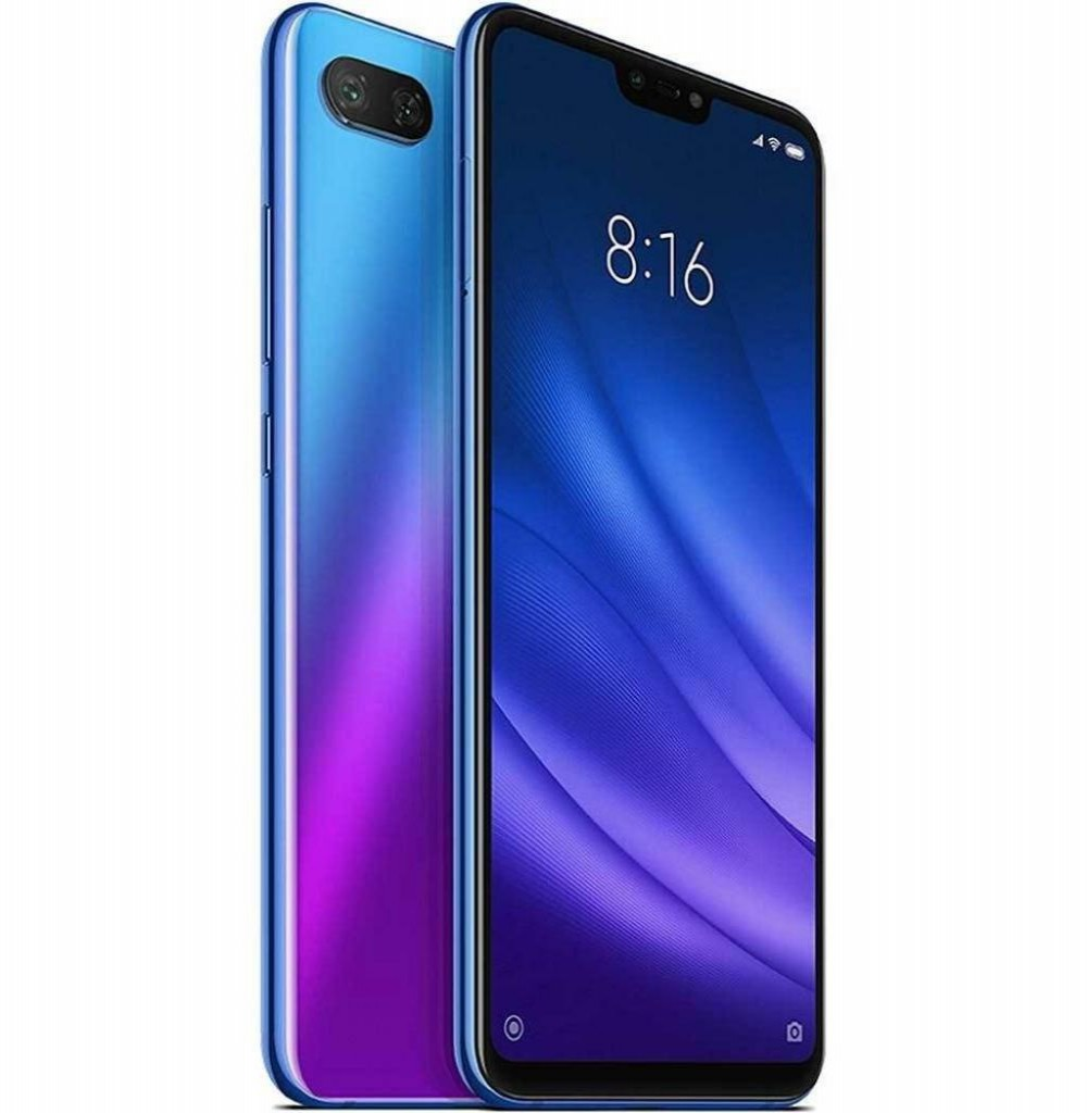 "Smartphone Xiaomi Mi 8 Lite Dual SIM 64GB de 6.26"" 12+5MP/24MP OS 8.1.0 - Azul"