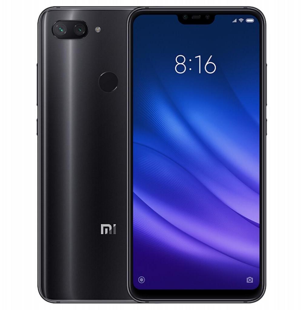 "Smartphone Xiaomi Mi 8 Lite Dual SIM 64GB de 6.26"" 12+5MP/24MP OS 8.1.0 - Preto Global"