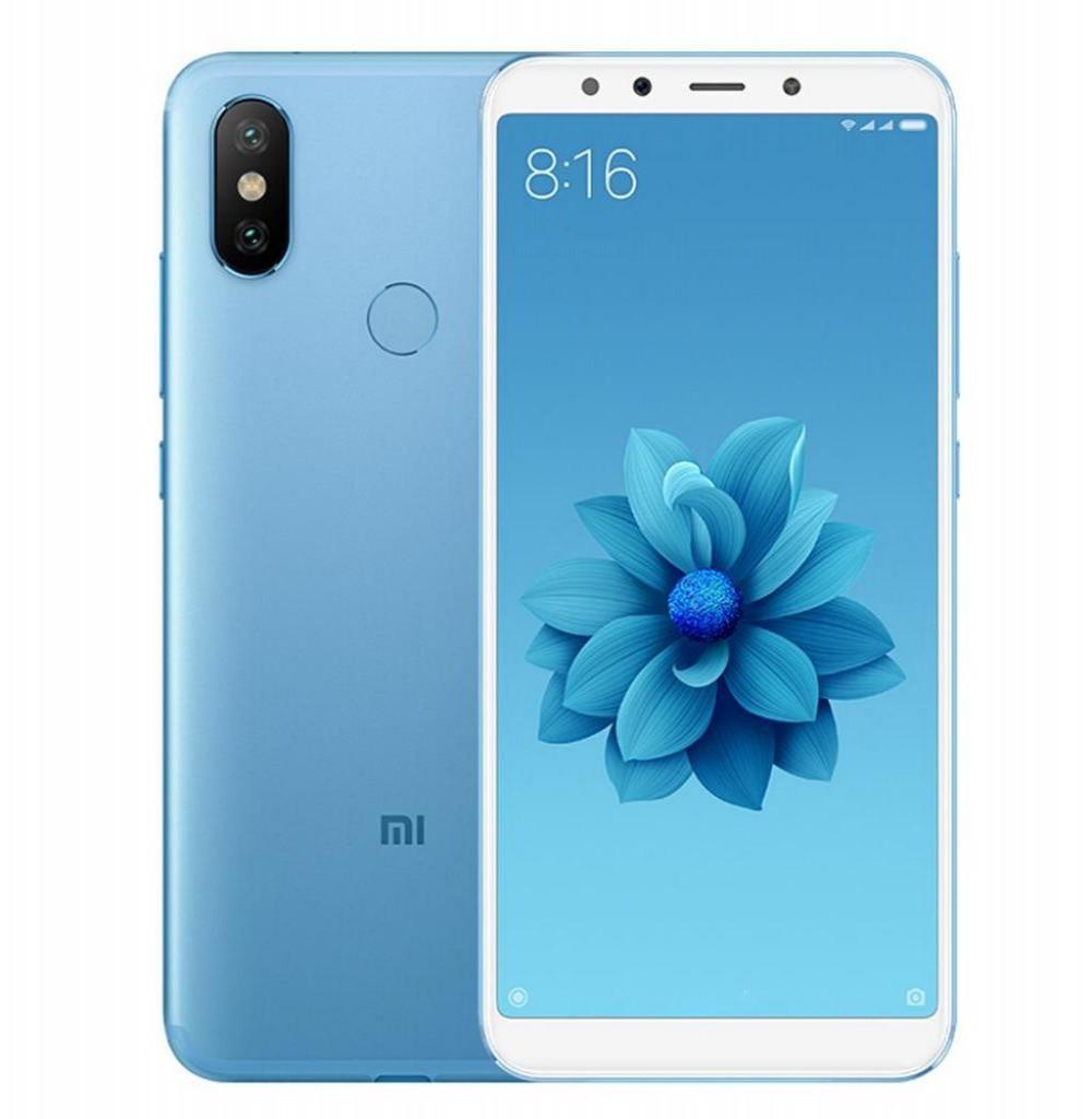 "Smartphone Xiaomi Mi A2 Dual SIM 32GB de 5.99"" 12+20MP/20MP OS 8.1.0 - Azul"