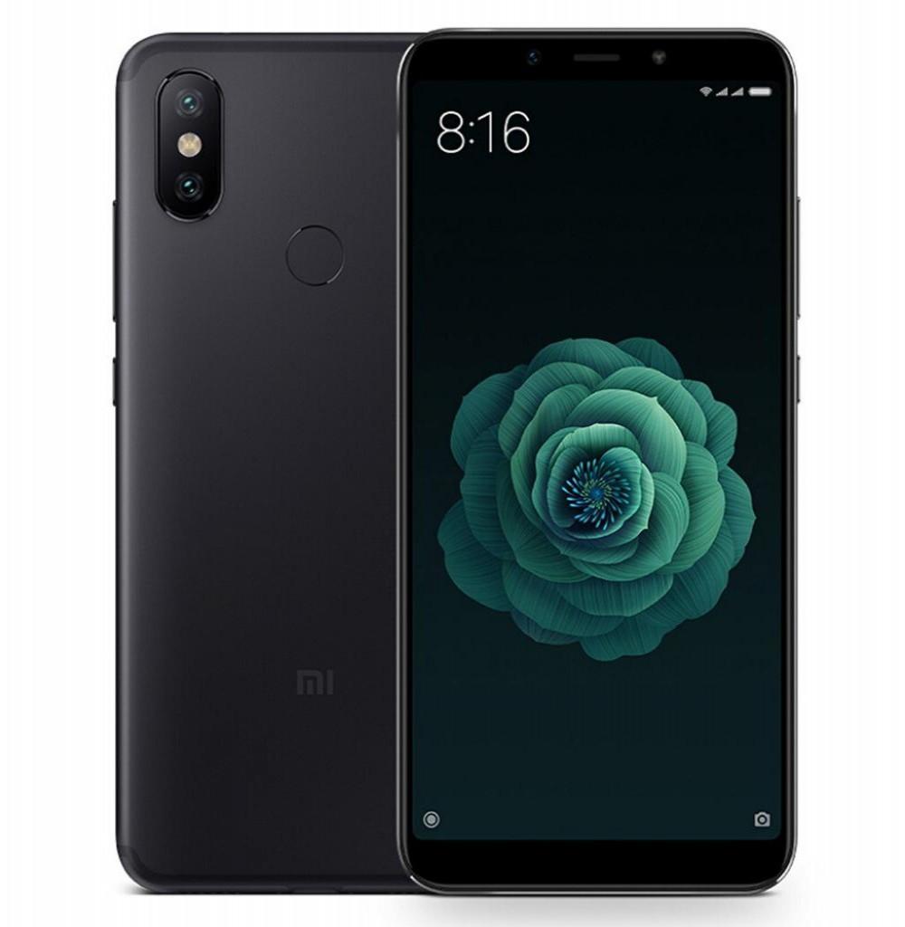 "Smartphone Xiaomi Mi A2 Dual SIM 64GB de 5.99"" 12+20MP/20MP OS 8.1.0 - Preto"