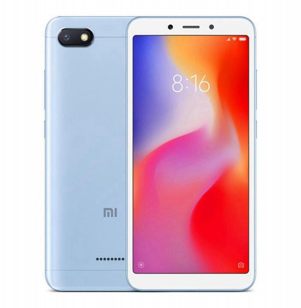 """Smartphone Xiaomi Redmi 6A Dual SIM 16GB Tela de 5.45"""" 13MP/5MP OS 8.1.0 - Azul"""