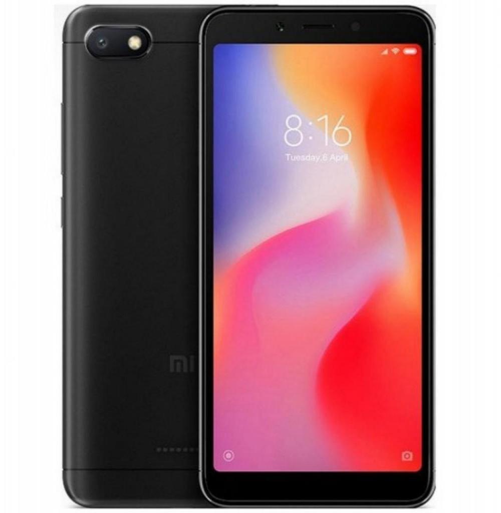 """Smartphone Xiaomi Redmi 6A Dual SIM 32GB Tela de 5.45"""" 13MP/5MP OS 8.1.0 - Preto"""