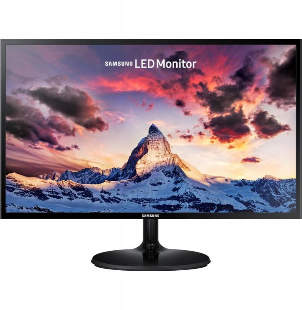 "Monitor LED de 19"" Samsung LS19F355HNL VGA - Preto"