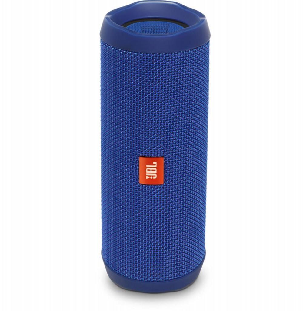 Speaker JBL Flip 4 16W com Bluetooth/Auxiliar Bateria 3000 mAh - Azul
