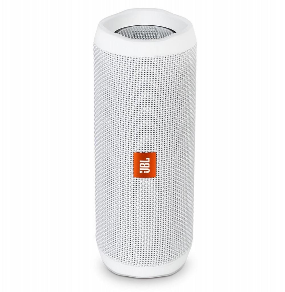 Speaker JBL Flip 4 16W com Bluetooth/Auxiliar Bateria 3000 mAh - Blanco