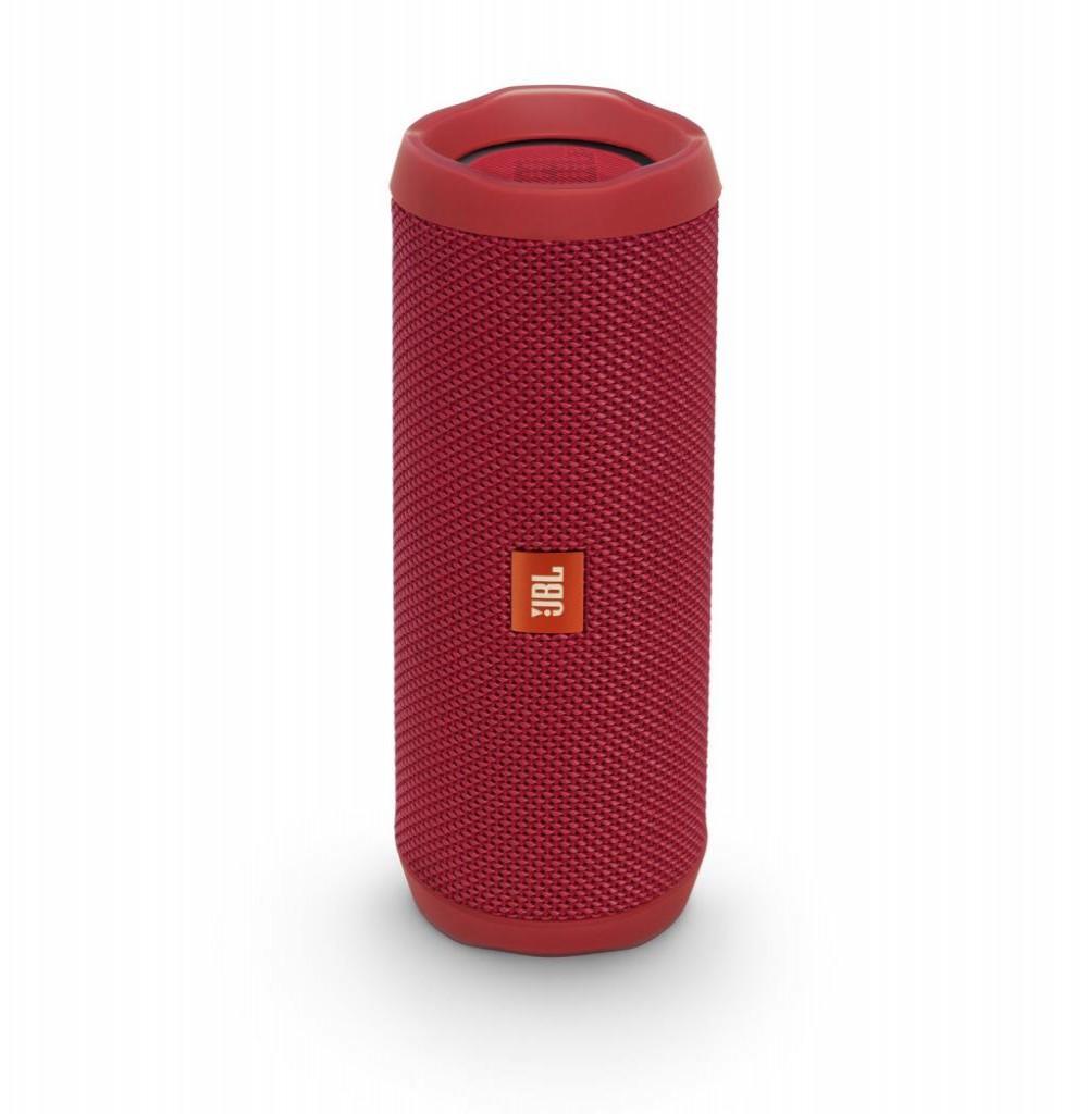 Speaker JBL Flip 4 16W com Bluetooth/Auxiliar Bateria 3000 mAh - Vermelho