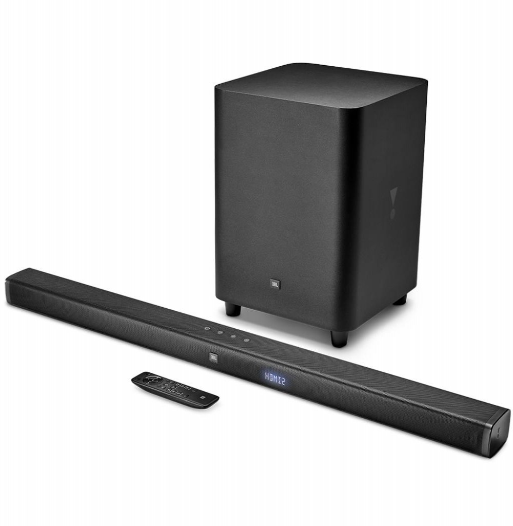 Soundbar JBL Bar 3.1 450W com Bluetooth/HDMI/USB/Optical Bivolt - Preto