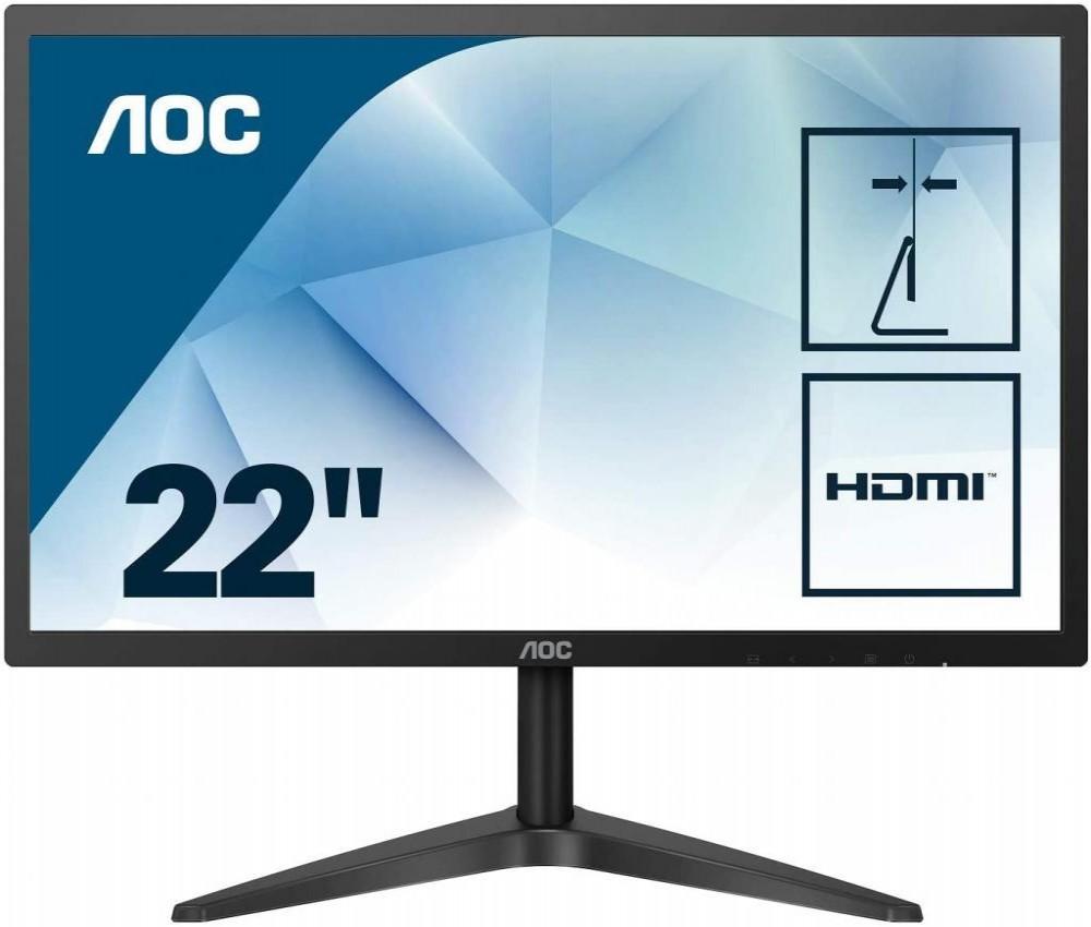 "Monitor Aoc 22B1HS FullHD HDMI VGA LED 22"""