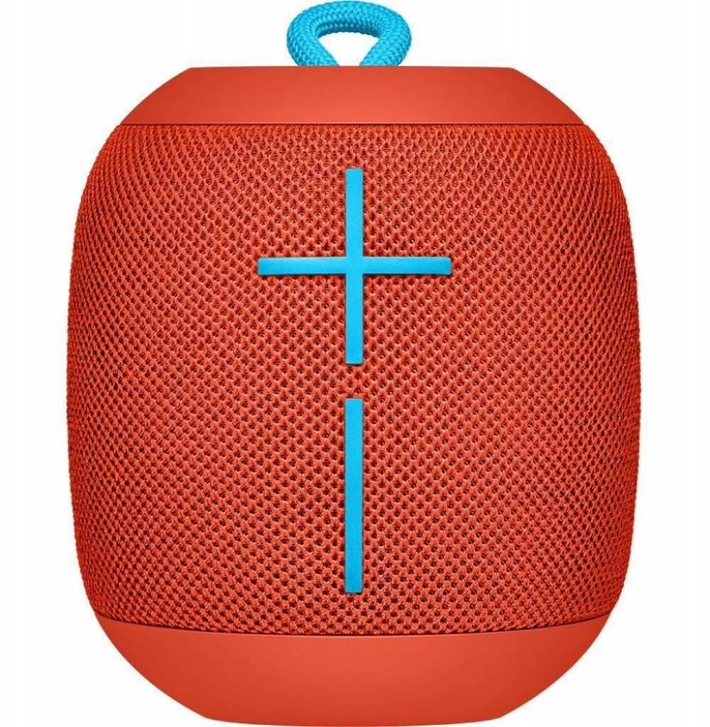 Caixa de Som de Som/Speaker Logitech Wonderboom Bluetooth - Vermelho