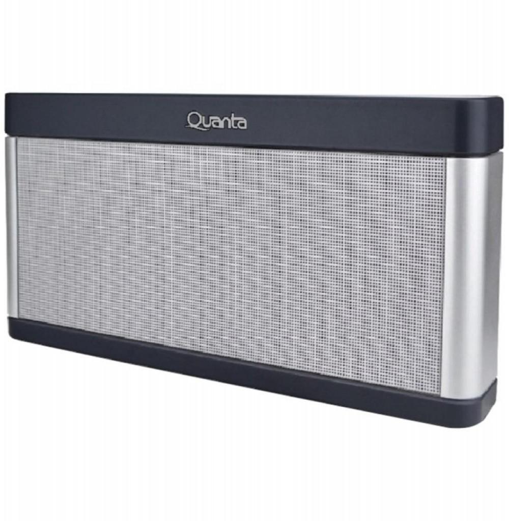 Speaker Quanta QTSPB39 com USB/Auxiliar/FM Bateria de 2.000 mAh - Prata