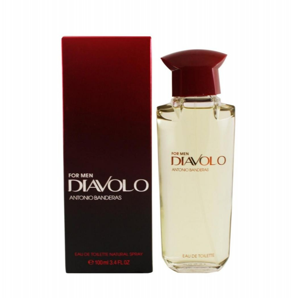 Perfume Antonio Banderas Diavolo For Men EDT 100ML